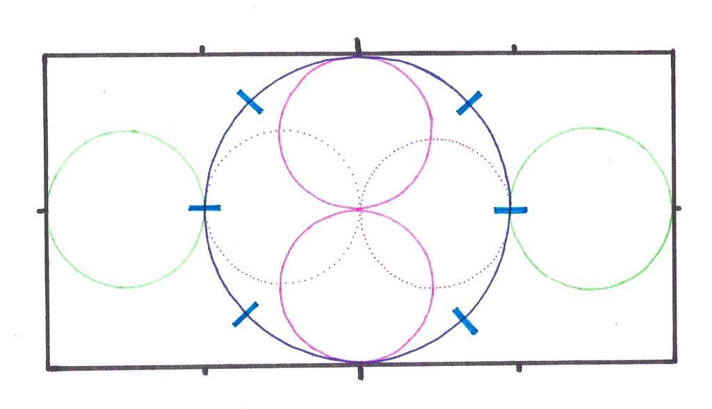 Volten und Zirkel mit Stangen
